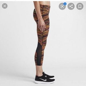 Nike power epic printed lux running tights